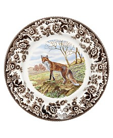 Spode Woodland  Red Fox Salad Plate