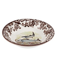 Woodland King Salmon Ascot Cereal Bowl