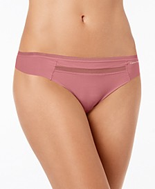 Invisibles Mesh-Trim Thong QD3692