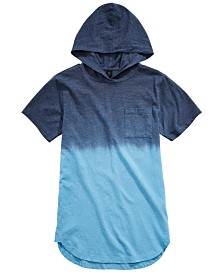Univibe Big Boys Zayden Dip-Dyed Hooded T-Shirt