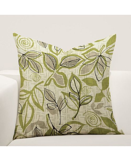 "Siscovers Lahaina Luau 16"" Designer Throw Pillow"