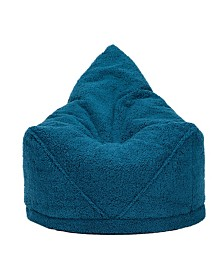 Mimish Sherpa Beanbag Lounger Chair with Storage