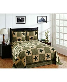 Star King Bedspread and Sham Set