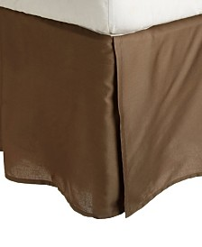 Superior 300 Thread Count Cotton Solid Bed Skirt - Queen