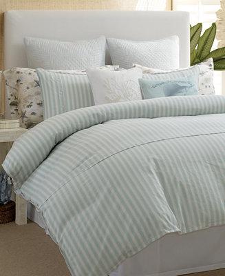 Closeout Tommy Bahama Home Surfside Stripe Comforter Sets
