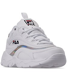 Fila Women's Ray Tracer Casual Athletic Sneakers from Finish Line