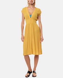 O'Neill Juniors' Willis Midi Cover-Up Dress
