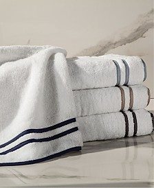 Home Treasures Ribbons Turkish Terry Face Towel