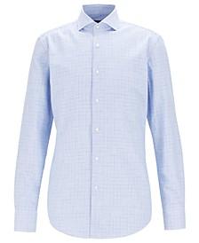 BOSS Men's Jason Slim-Fit Cotton Twill Shirt