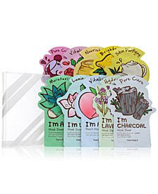 I'm Real Sheet Mask Set: Buy 8 Sheet Masks and Get 2 Free