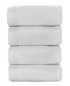 BedVoyage 4 Pack of Washcloths, Washcloth Set