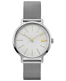 Lacoste Women's Moon Ultra Slim Stainless Steel Mesh Bracelet Watch 35mm