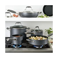 Anolon Advanced Home Hard-Anodized Nonstick 11-Pc Cookware Set
