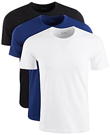 HUGO Men's 3-Pk. Cotton T-Shirts