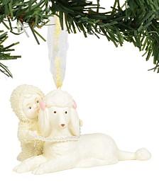 Department 56 Snowbabies Poodle in Pearls Ornament
