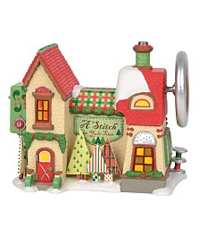 Department 56 Villages A Stitch In Yule Time