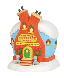 Department 56 Villages Flue Who's Fireplace Place