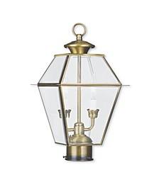 Westover 2-Light Outdoor Post Lantern