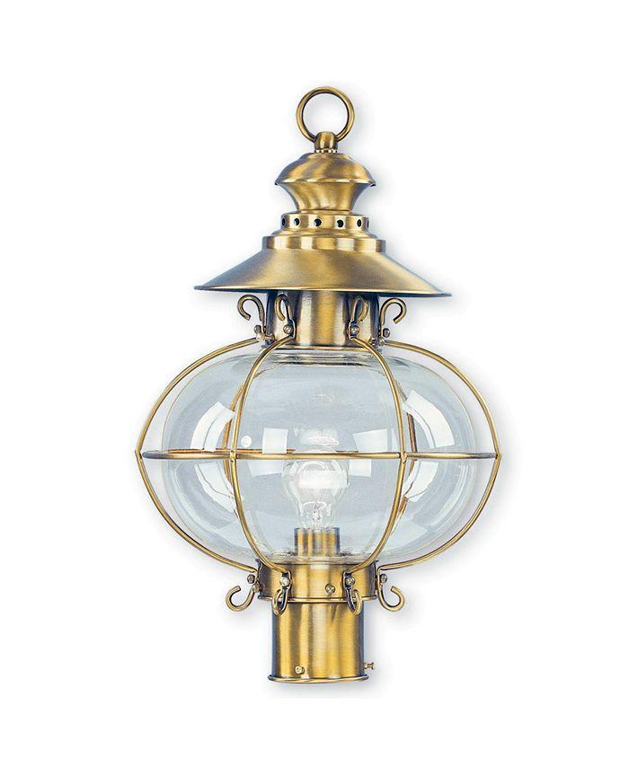 "Livex - Harbor 1-Light 20.5"" Outdoor Post Lantern"