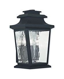 CLOSEOUT!   Hathaway 3-Light Outdoor Wall Lantern