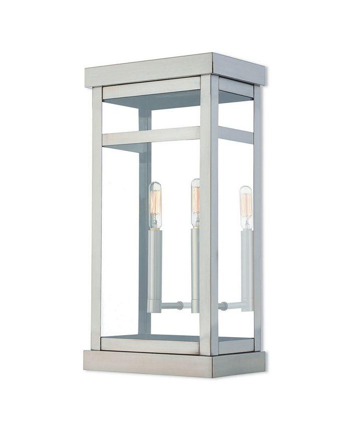 "Livex - Hopewell 2-Light 18"" Outdoor Wall Lantern"