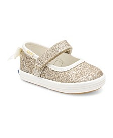 Baby Girl's Keds x Kate Spade Sloane Mary-Jane Crib Shoe