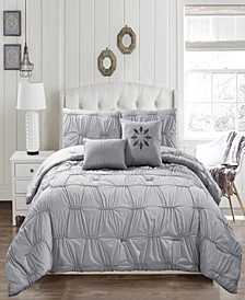 Akita Queen 6-Pc. Comforter Set