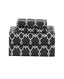 Calvin Geometric Queen Sheet Set