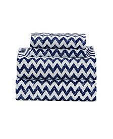 Casey Chevron King Sheet Set