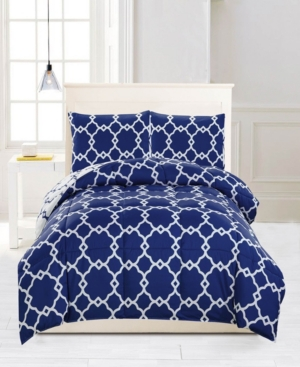 Greyson Down Alternative Reversible Full/Queen Comforter Set Bedding