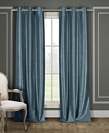 Daenerys Faux Silk Blackout Curtain Collection