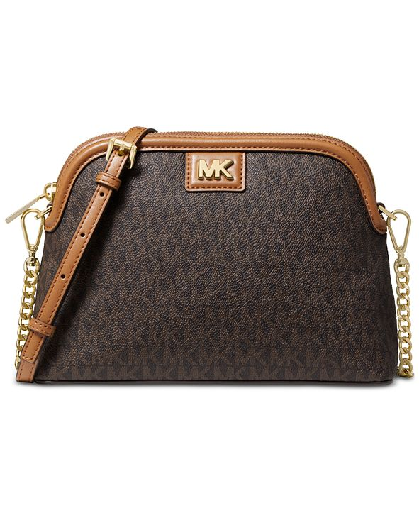 Michael Kors Signature Dome Crossbody