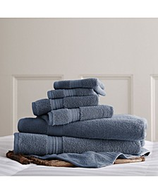 Luxury Spa Collection 100% Cotton 6-Pc. Towel Set