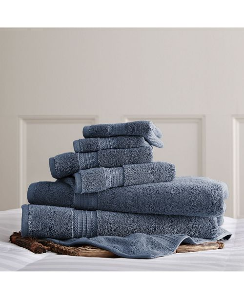 Modern Threads 700 Gsm Luxury Spa Collection 6 Pc 100% Cotton Towel Sets