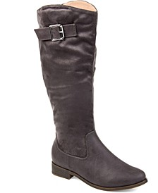 Women's Extra Wide Calf Frenchy Boot