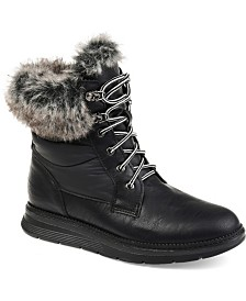 Journee Collection Women's Flurry Snow Boot