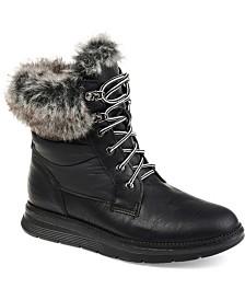 Journee Collection Women's Flurry Snow Boot