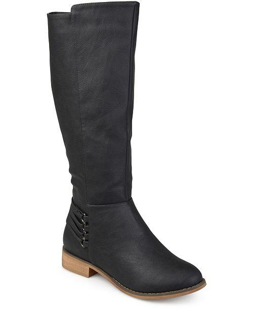 Journee Collection Women's Wide Calf Marcel Boot