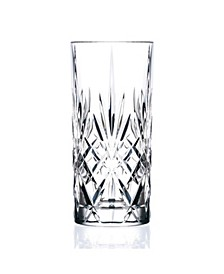 Melodia Crystal Highball Glass - Set of 6