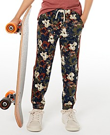 Toddler Boys Floral Twill Jogger Pants, Created for Macy's