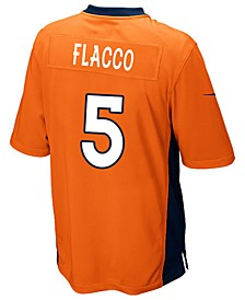Men's Joe Flacco Denver Broncos Game Jersey