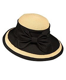 Picture Brim Bow Hat