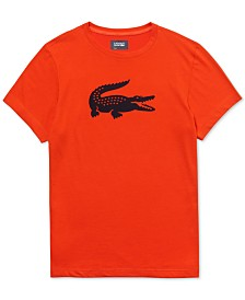 Lacoste Men's Sport Tech Logo T-Shirt