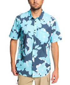 Quiksilver Waterman Men's Tech Floral Woven Shirt
