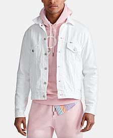 Men's Denim Cotton Trucker Jacket