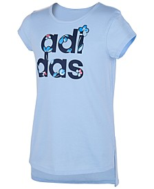 Little Girls Logo-Print T-Shirt