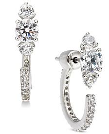Eliot Danori Crystal Front & Back Earrings, Created for Macy's