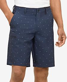 "Kenneth Cole New York Men's Star-Print 10"" Cargo Shorts"