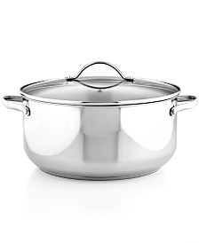 Stainless Steel 8 Qt. Casserole with Lid, Created for Macy's