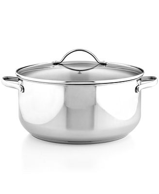 Tools of the Trade Stainless Steel 8 Qt. Casserole with Lid, Created for